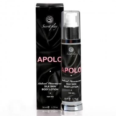 Loción piel de seda Apolo